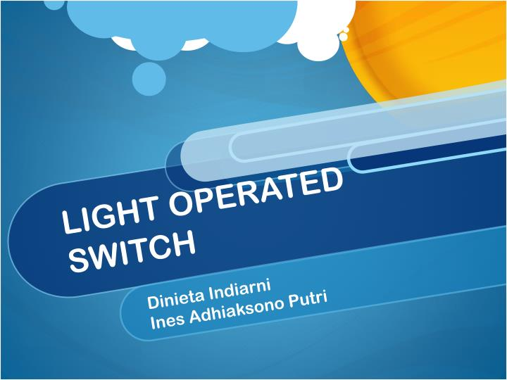 light operated switch n.