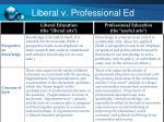 liberal v professional ed1