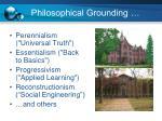 philosophical grounding1