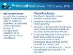 philosophical kneller 1971 levine 1978