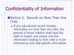 confidentiality of information4