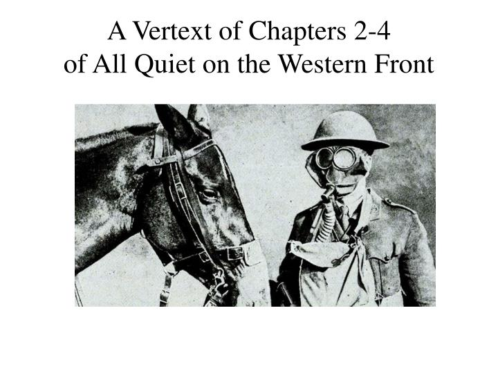 conditions western front essay All quiet on the western front is narrated by paul bäumer  the soldiers are forced to live in appalling conditions—in filthy  suggested essay topics 1.