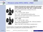 p rubov ventily vvf53 vxf53 v pn25