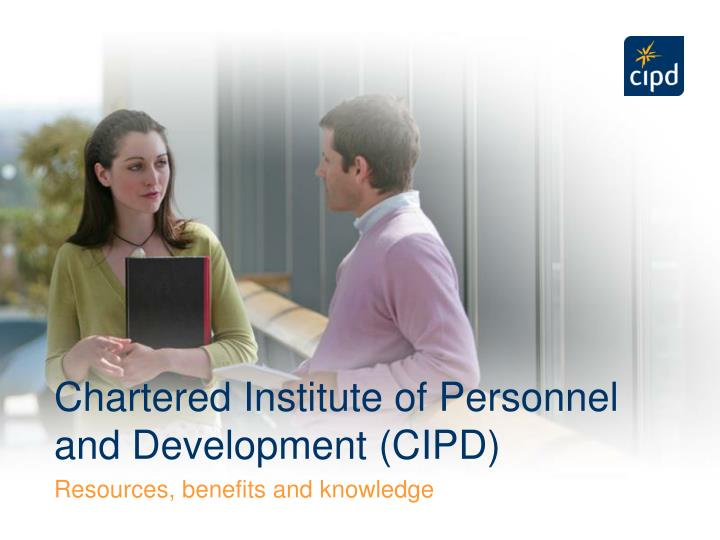chartered institute of personnel and development cipd n.