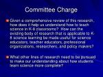committee charge1