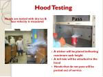 hood testing