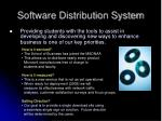 software distribution system