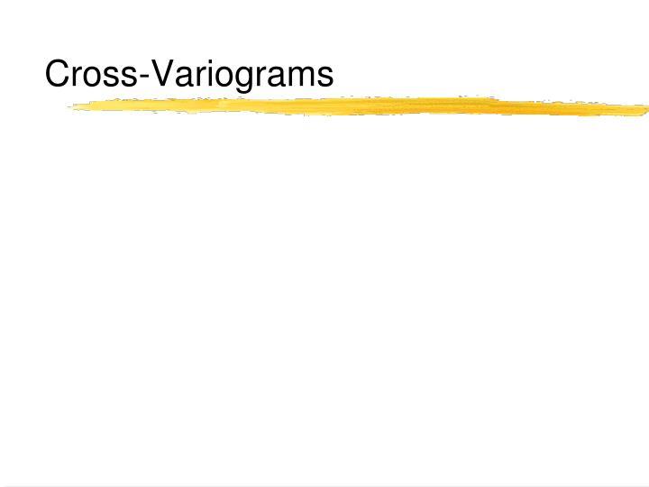 Cross-Variograms
