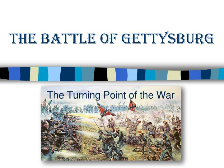 the battle of gettysburg: why was it a turning point? It was the turning point in hindsight but it is an accurate characterization lee was the advocate for the gettysburg campaign, and had the battle of chickamauga was fought in september, followed by the successful union attacks in november to relieve chattanooga after the confederate victory at.