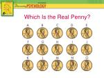 which is the real penny