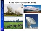 radio telescopes of the world