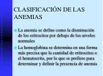 clasificaci n de las anemias1