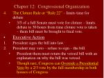 chapter 12 congressional organization19