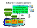 beingrid wow2green experiment1