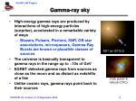 gamma ray sky