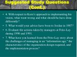 suggested study questions cont