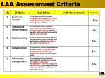 laa assessment criteria1