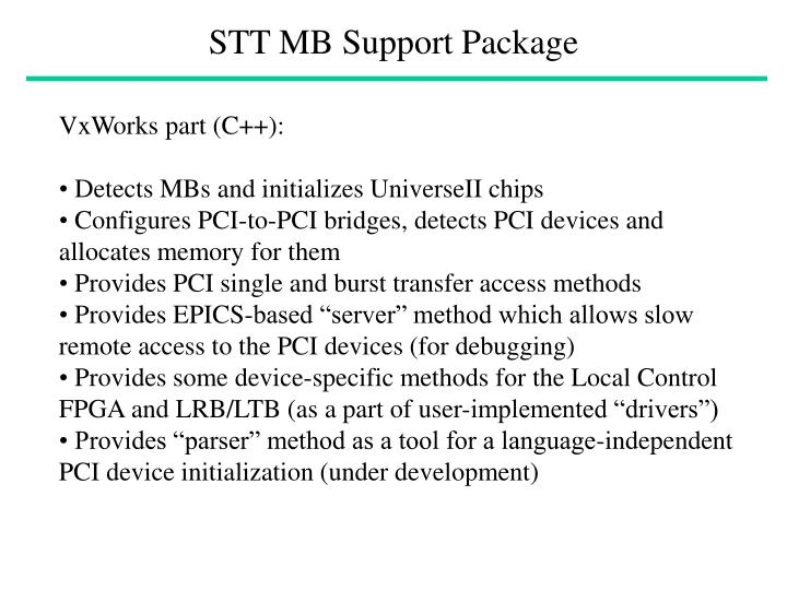 stt mb support package n.