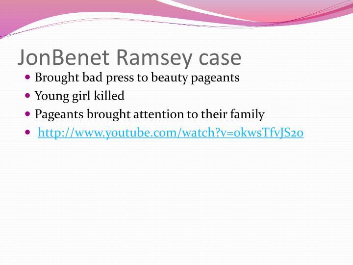 JonBenet Ramsey case