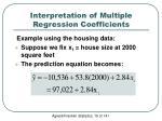 interpretation of multiple regression coefficients1