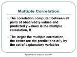 multiple correlation2
