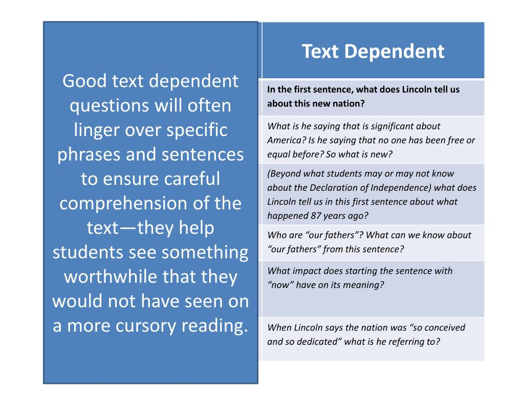 PPT - Close Reading PowerPoint Presentation - ID:5641395
