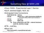 something new @ man lan