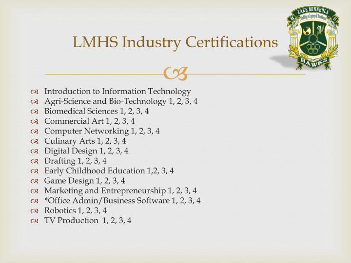 LMHS Industry