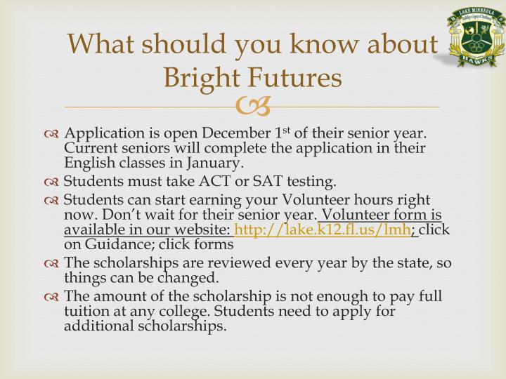 What should you know about Bright Futures
