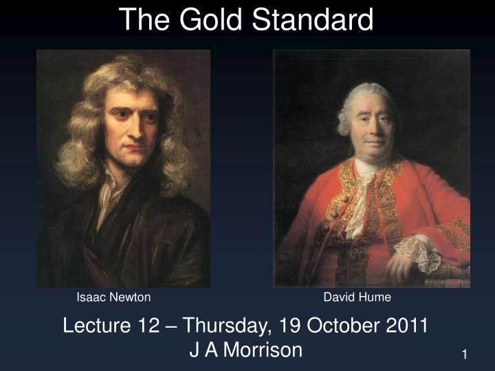 the gold standard n.