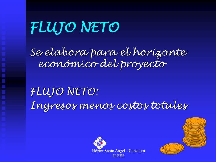 FLUJO NETO