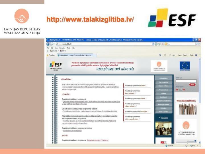 http://www.talakizglitiba.lv/