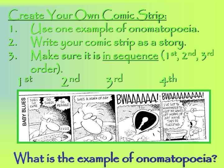 PPT - Onomatopoeia PowerPoint Presentation - ID:5642400