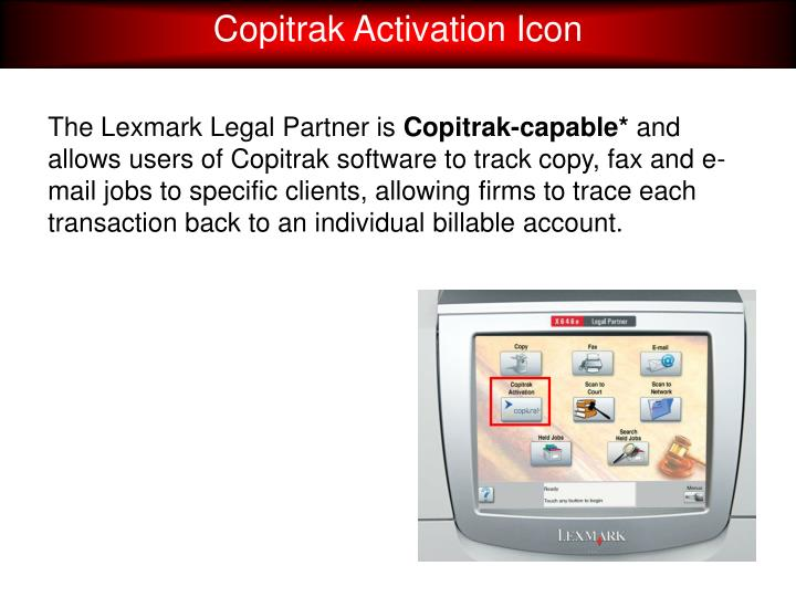 Copitrak Activation Icon