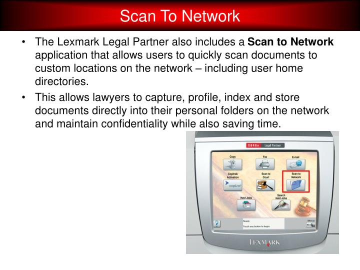 Scan To Network