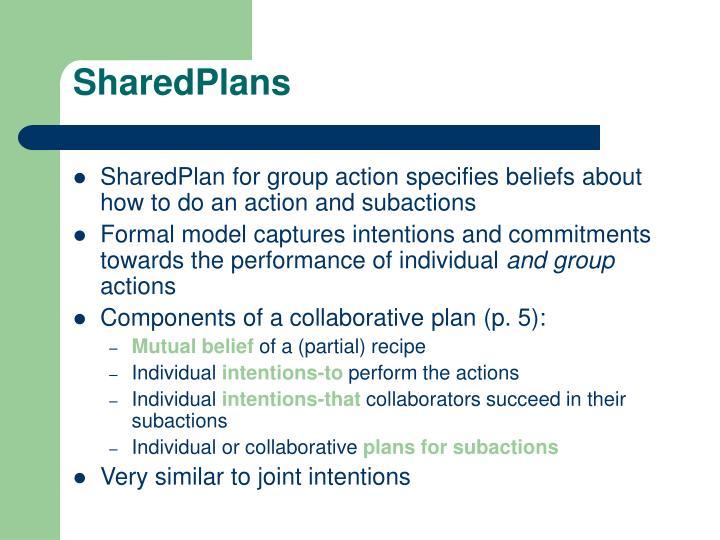 SharedPlans
