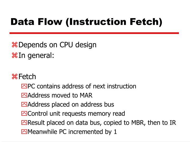 Data Flow (Instruction Fetch)