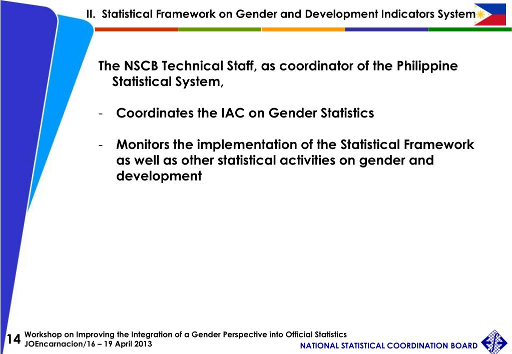 PPT - Integrating Gender into National Statistics: The