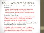 ch 13 water and solutions2