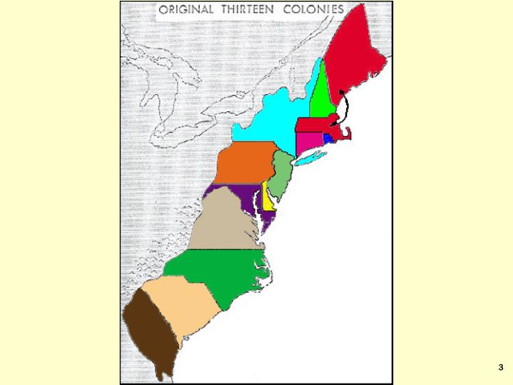 Colonial america new england