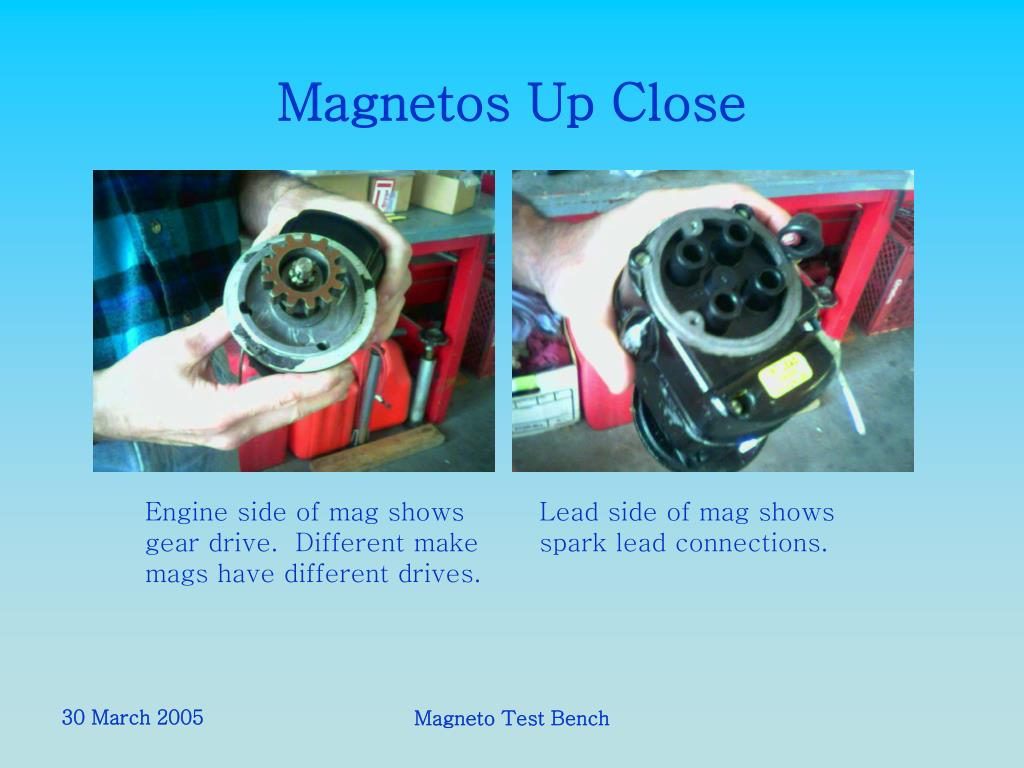 PPT - Magneto Test Bench PowerPoint Presentation - ID:5642813