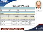 sample psp record