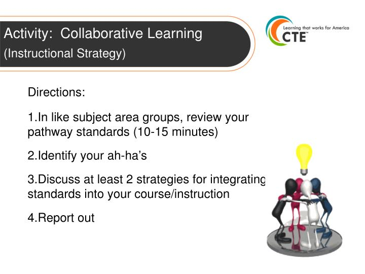 Activity:  Collaborative Learning