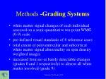 methods grading systems1