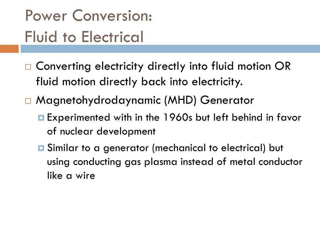 PPT - Energy and Power Conversion Devices PowerPoint