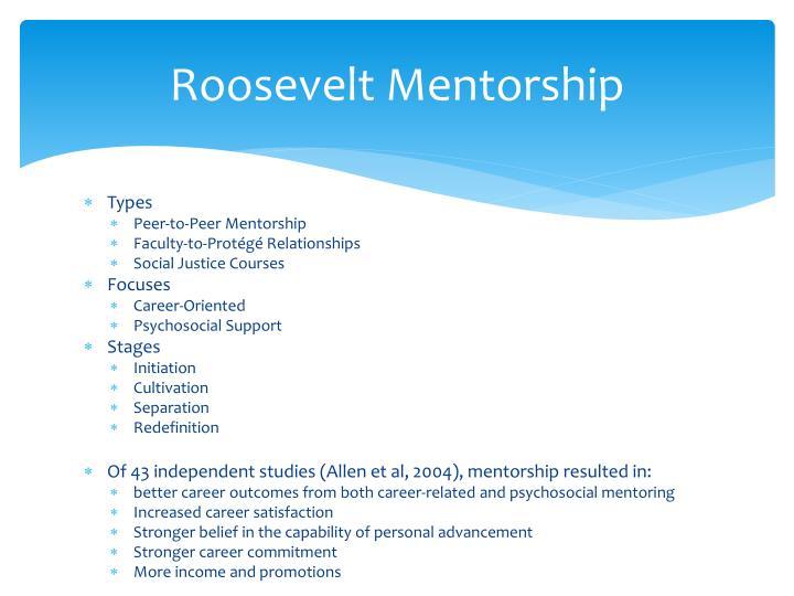 Roosevelt Mentorship