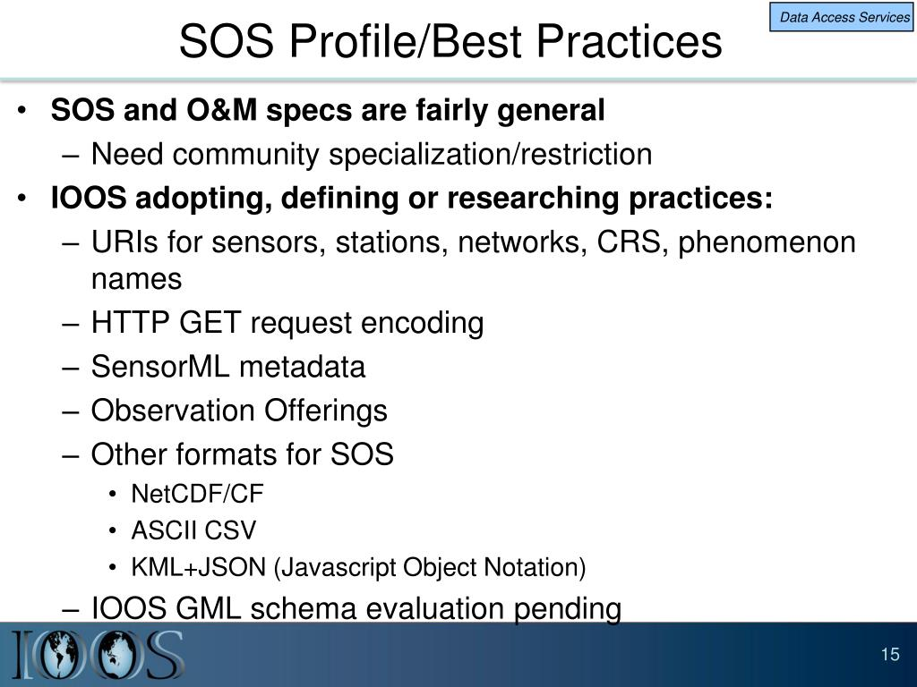 PPT - Integrated Ocean Observing System (IOOS) PowerPoint