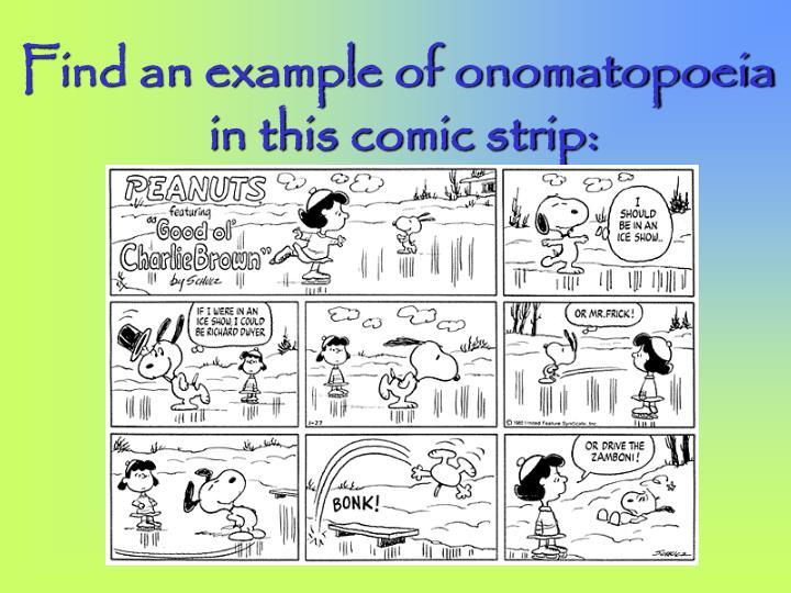 Ppt Onomatopoeia Powerpoint Presentation Id5644140