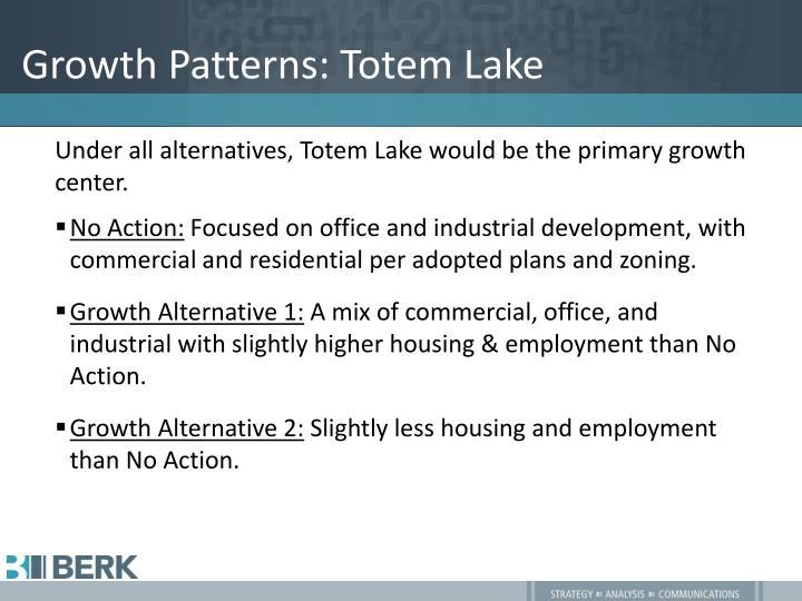 Growth Patterns: Totem Lake