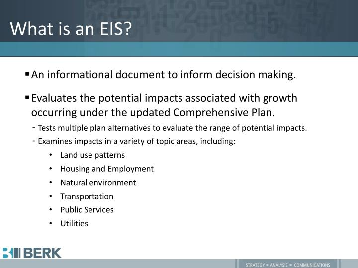 What is an eis
